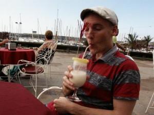 Håkis med drink
